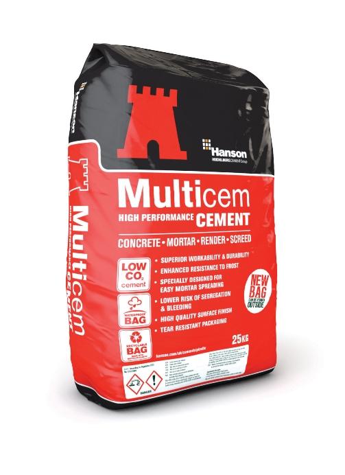 Multichem Plastic Bag Cement 25kg Sb Building Supplies Ltd