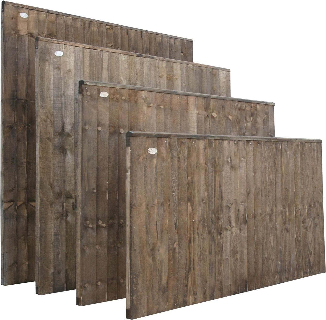 Featheredge Fence Panels 6ft X 6ft Sb Building Supplies Ltd