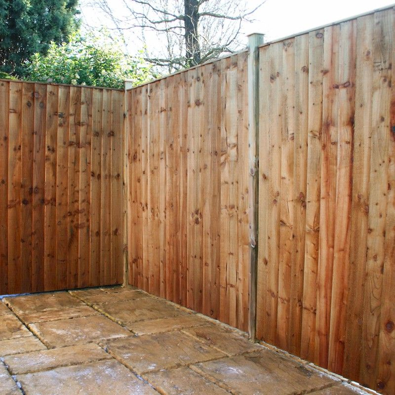 Featheredge Fence Panels 6ft X 3ft Sb Building Supplies Ltd