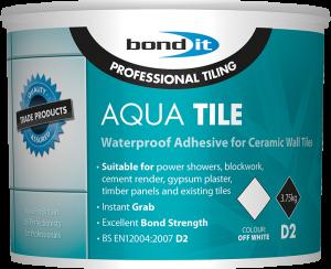 Bond It Aqua Tile Water Resistant Tile Adhesive 15kg Sb